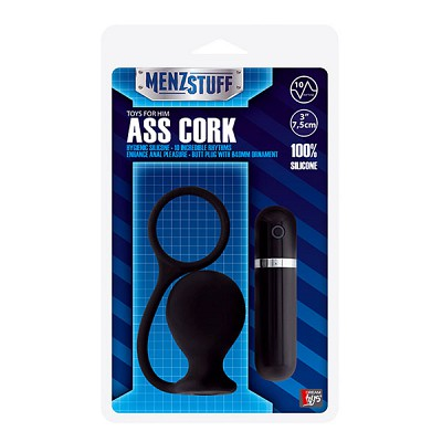 Анальный плаг Menzstuff Ass Cork blk